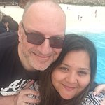 Us at shipwreck beach - a must see!