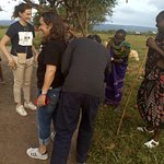 Maasai Village cultural tour at Mikumi with our clients