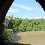 view through arch