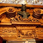 wood carving and ceiling moulding
