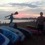Friends Pre Sunset Group Session - Unawatuna Bay