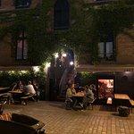Restaurant gegen Ende des Abends