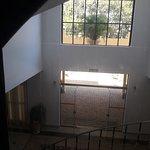 Vista do elevador panorâmico