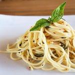Spaghetti aglio o olio