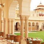 Verandah Cafe at Rambagh Palace