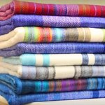 Keep warm with gorgeous Alpaca blankets