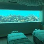 Unterwasser Spa