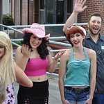 "Ecstatic audiences meet the cast of TheatreWorks Florida's ""The Great American Trailer Park Musi"