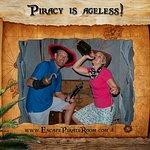 Adventurous treasure hunting in Pirate Cave.