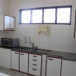 Cozinha livre acesso a todos os visitantes