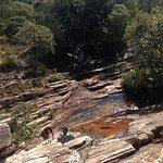 Cachoeira de Sobradinho. Lugar maravilhoso. Água que brota das pedras e forma piscinas naturais.