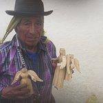 venditore di souvenir Antigua Guatemala
