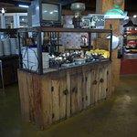 Buffet do restaurante Chão Nativo