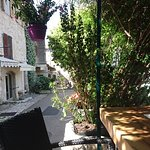View from a small restaurant in Saint-Paul de Vence