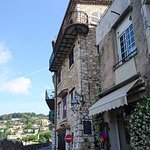Beautiful house and beautiful view from the elevated village of Saint-Paul de Vence