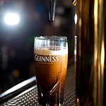 Guinness - served right at IRISH PUB ODESSA!