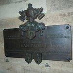 Plaque mémorial