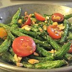 Locally sourced: Flash Fried Green Beans w/ Asian Mother Sauce