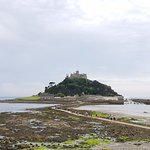 St. Michael's Mount with its causeway. June 2018.