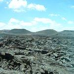 Las formas extrañas de la lava
