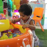 Play in Kinetic Sand Pit @ Majama Game Zone, Shahibaugs Biggest Game Zone! Call 09727615012