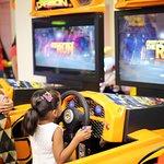 Enjoy Car Racing Simulators @ Majama Game Zone, Shahibaugs Biggest Game Zone! Call 09727615012