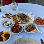 Lebanese Meze - starters, salads and dips