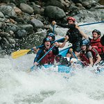 Enjoying the rapids of the Savegre River! We love to share the beauty of these rapids with you.