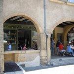 Les arcades et terrasse