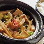 Nam Dau Hum Kho Tieu - Braised Mushroom and Tofu in Pepper Sauce