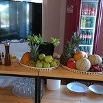 postazione centrifughe ed estratti con verdure e frutta Bio Cargo Sottovento
