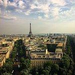 Paris vista do Arco do Triunfo