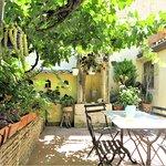 Ciricò private courtyard