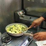 Artichoke and potato casserole