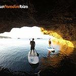 paddle y sunset