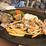 the fresh cod....yum