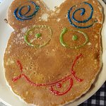 Happy Face Pancake (Kid's Meal)