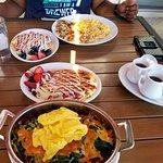 Breakfast at BlueberryPancake