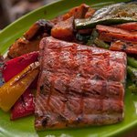 Gourmet food on all kayaking trips