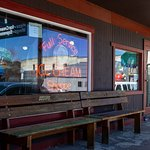 Enjoy your Wilcoxson's Ice Cream outside on our shaded benches.