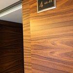 4th floor, lots of wood
