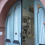Haus der Romantik. Eingangs-Portal.