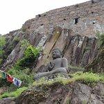 Statua del Buddha presente all'entrata