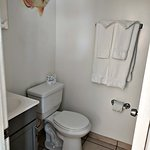 Bathroom with stand-up shower