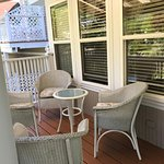 Private terrace for our 2 room suite