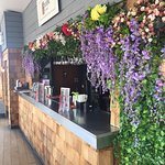 Our Botanical Gin Garden Terrace is a summer hot spot. Cocktails, sun, and food? Sign me up