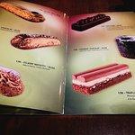 carte pâtisseries