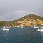 Rainbow in the BVIs.