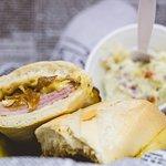 Ham & Gouda sandwich