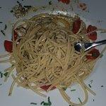 Epaghetti vongole e finocchietto